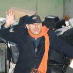 Andrzej Strzelecki oddaje elektrośmieci